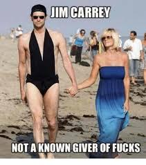Jim Carrey Memes - jim carrey not a known giver of fucks jim carrey meme on ballmemes com