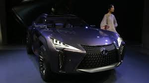 lexus motors brasil lexus ux concept shows a new take on compact crossover design in paris