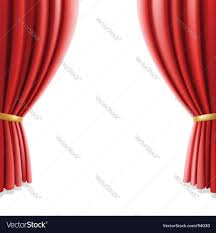 Theater Drape Theater Curtain Royalty Free Vector Image Vectorstock