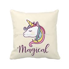 Factory Direct Home Decor Cheap Pillow Cushion Cover Buy by Blowing Bubbles Unicorn Pillow Case In 18 X 18 Inch 12 X 20 Inch