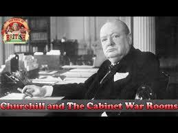 War Cabinet Ww2 Churchill And The Cabinet War Rooms Sir Winston Churchill U0027s