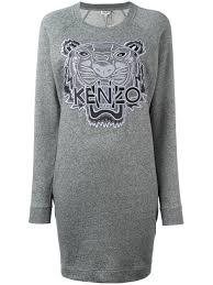cheap kenzo sweater sale kenzo u0027tiger u0027 sweatshirt dress women