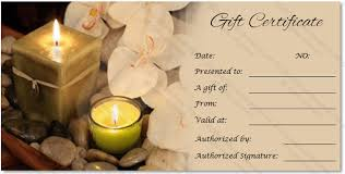 spa gift cards spa gift voucher template gift certificate template badi deanj