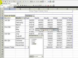 youtube pivot tables 2016 group months into quarters in an excel pivot table youtube