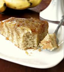 upside down cake sprinkle some sugar