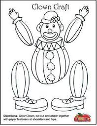 matching clown face twins preschool worksheets clowns and articles