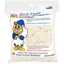 Hamster Bed Sam 100 Natural Cotton Nesting Material For Your Hamster Bed