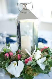 lantern centerpiece nautical reception decor ideas elizabeth designs the