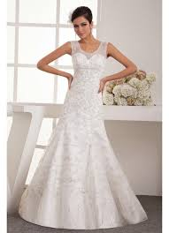 wedding dresses with straps a line wedding dresses with straps