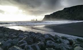 black sand beach in iceland imgur
