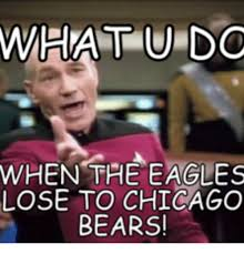Bears Memes - what do when the eagles lose to chicago bears chicago meme on me me