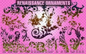 renaissance ornaments free vector in adobe illustrator ai ai