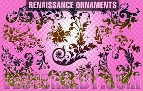 renaissance ornaments free vector in adobe illustrator ai ai
