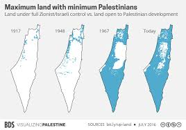 Blank Map Of Israel Colonialism And Apartheid Bds Movement