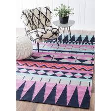 Overstock Com Home Decor Nuloom Southwestern Flatweave Wool Multi Rug 5 U0027 X 8 U0027 Overstock