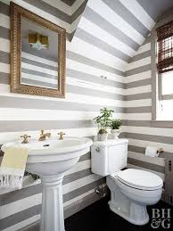 Striped Bathroom Walls How To Clean Bathroom Fixtures