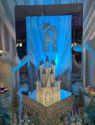 brown birthday party inside royalty brown s 30k frozen themed birthday party funded by