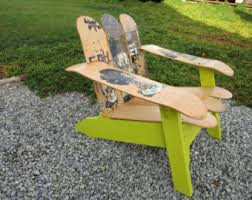 skateboard chairs the boardworx adirondack chairs benches and unique by theboardworx