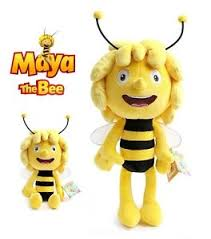 maya bee plush toy doll 35cm tall ebay