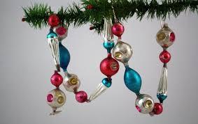 vintage tree ornaments decor