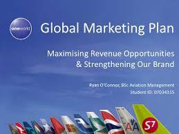 global marketing plan 2011 2012