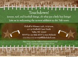 football baby shower 10 football baby shower invitations all by littlebeesgraphics