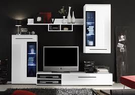 Wohnzimmerschrank Auf Rechnung Trendteam Sn94702 Wohnzimmerschrank Wohnwand Anbauwand Weiss