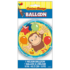Curious George Birthday Balloon