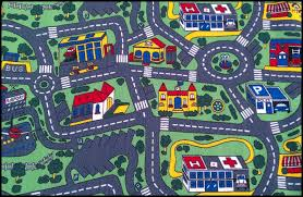 Kids Play Rugs With Roads by Carpet City Rug Roselawnlutheran