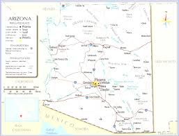 Road Map Arizona by Phoenix Az Road Map Prepossessing World Evenakliyat Biz