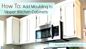 Crown Moulding For Kitchen Cabinets Crown Molding Ideas Decor Moulding Cost Ing Corner Blocks Kitchen