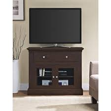 tv unit with glass doors altra furniture brandywine antique cherry tv stand for tvs up to