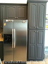 Kitchen Cabinets Refinishing Kits Diy Painting Kitchen Cabinetspaint Bathroom Vanity Dark Grey