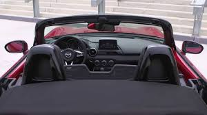 mazda roadster interior all new mazda mx 5 sneak peek 2015 soul red metallic interior