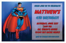 superman birthday invitations ideas u2013 bagvania free printable