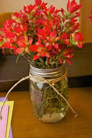 Mason Jar Centerpiece Ideas Mothers Day Centerpiece Blissfully Domestic