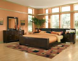 bedroom bedroom decorating ideas with brown furniture fireplace