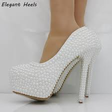 wedding shoes pumps compare prices on wedding shoes white pumps online shopping buy