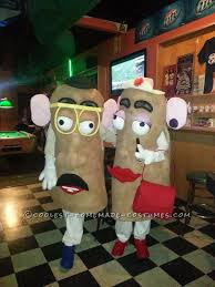 Diy Sew Potato Head Costume Diy Potato Head Costume