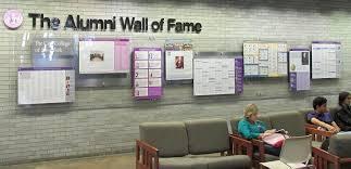 jessica weber design inc ccny u201calumni wall of fame u201d interior