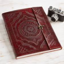 embossed photo album handmade indra x large embossed leather photo album by paper high