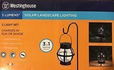 westinghouse solar landscape light set westinghouse solar led outdoor spotlights ebay