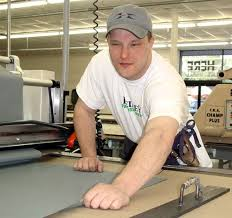 Roger Blind Blind Workers In Maryland Take Pride In Crafting Army Uniforms