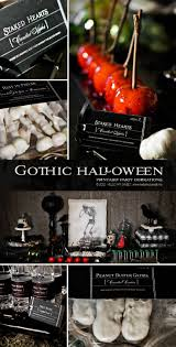 Halloween Skeleton Decoration Ideas Best 25 Gothic Halloween Decorations Ideas On Pinterest Simple