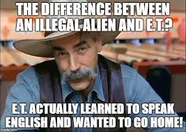 Rodney Dangerfield Memes - the difference between an illegal alien and e t e t actually