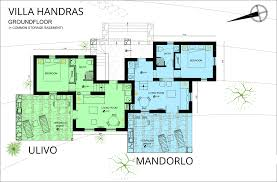Holiday House Floor Plans by Accommodation Amorgos Elegant Holiday Homes Villa House Apartment