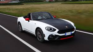 2017 fiat 124 spider abarth abarth 124 spider 2016 review by car magazine