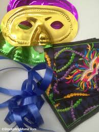 How To Make Mardi Gras Decorations Mardi Gras Party Banner