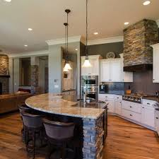 open concept kitchen living room designs love the open bar area where people can sit and visit while still