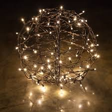 lovely decoration sphere lights light balls for trees